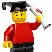 A LEGO Graduate