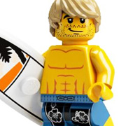 LEGO Minifigure - Surfer Dude