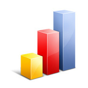 Graph showing website traffic increase