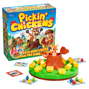 Win 1 of 5 Pickin' Chickens games!