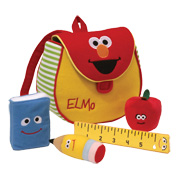 Win 1 of 5 Elmo's Book Bag Playsets!